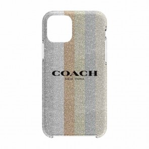 Coach Protective Case for iPhone 11 Pro - Glitter Americana Neutral Silver Glitter/Gold Glitter/Rose Gold Glitter/Multi
