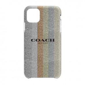 Coach Protective Case for iPhone 11 Pro Max - Glitter Americana Neutral Silver Glitter/Gold Glitter/Rose Gold Glitter/Multi