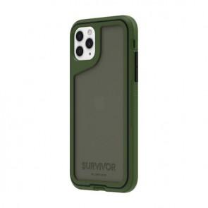 Griffin Survivor Extreme for iPhone 11 Pro- Bronze Green/Black/Smoke