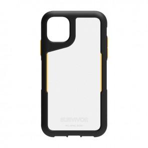 Griffin Survivor Endurance for iPhone 11 - Black/Citrus/Clear