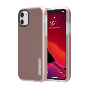 Incipio DualPro for iPhone 11 - Iridescent Rose Gold/Frost