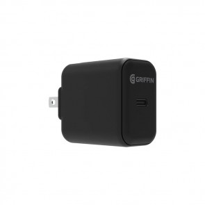 Griffin PowerBlock USB-C PD 20W Wall Charger - Black (North America)