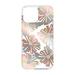 Kate Spade New York Protective Hardshell Case for iPhone 13 - Wallflower/Cream/Sliver Glitter/Rose Gold Foil/Gold Foil/Champagne Foil