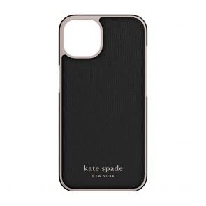 Kate Spade New York Wrap Case for iPhone 13 Pro - Black/Pale Vellum Bumper/Pale Vellum Logo