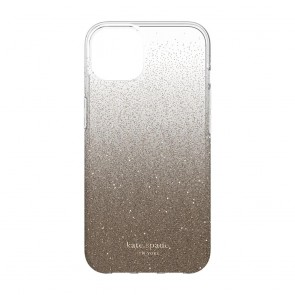 Kate Spade New York Protective Hardshell Case for MagSafe for iPhone 13 - Champagne Ombre Glitter