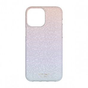 Kate Spade New York Protective Hardshell Case for iPhone 13 Pro - Ombre Glitter/Pink/Purple/Blue