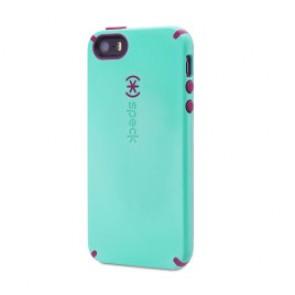 Speck iPhone 5/5s/5se CandyShell MYKONOS BLUE/CABERNET RED