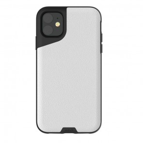 Mous iPhone 11 Contour Case White Leather