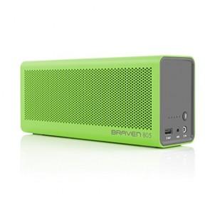Braven 805 Wireless HD Bluetooth Speaker - Retail Packaging - Green/Gray