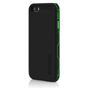 Incipio offGRID 2000mAh Rugged Battery Case for iPhone 5 - Carrying Case - Retail Packaging - Black/Green