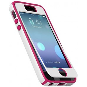 Speck Products iPhone 5/5s CandyShell + FACEPLATE Case - White/Raspberry Pink