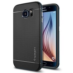 Spigen Galaxy S6 Case Neo Hybrid Metal Slate