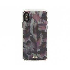 SONIX CLEAR COAT FOR IPHONE X - PINK TORTOISE