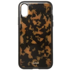 SONIX CLEAR COAT FOR IPHONE X - BROWN TORTOISEOISE
