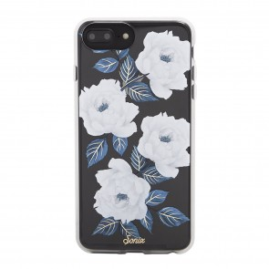 SONIX CLEAR COAT FOR IPHONE 8/7/6s/6 Plus- SAPPHIRE BLOOM
