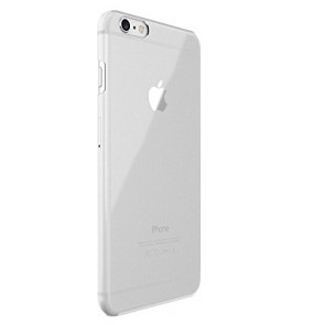 Just Mobile TENC Self-Healing Ultra-Slim Transparent Case for iPhone 6s Plus/6 Plus - Retail Packaging - Clear