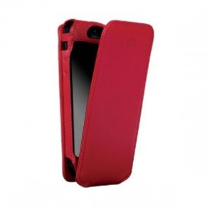 Sena iPhone 5/5S Magnet Flipper Case - Red