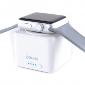ZENS Apple Watch Powerbank White (1300mAh)