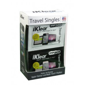 iKlear Travel Singles With Antimicrobial Polishing Cloth