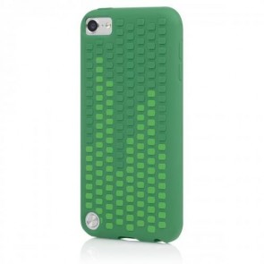 Incipio IP-430 Micro Texture Case for iPod touch 5G - Duo-Tone - Leaf Green/Clover Green