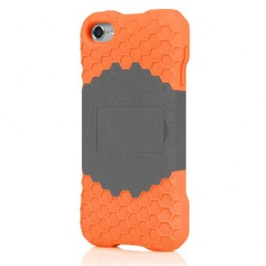 Incipio IP-435 HIVE Response Case for iPod touch 5G - Graphite Gray/Sunkissed Orange