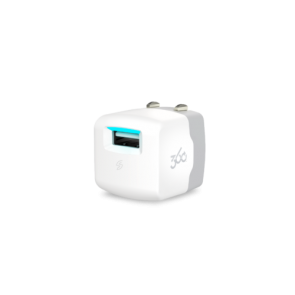 360 Electrical Vivid1.0 1-Port 1.0A USB Wall Charger (White)