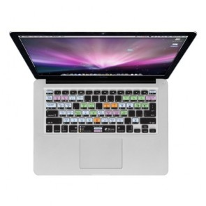 KB Covers Mac OS X Shortcuts Keyboard Cover for MacBook/Air 13/Pro (2008+)/Retina and Wireless (OSX-M-CC-2)
