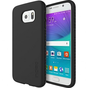 Incipio Octane Carrying Case for Samsung Galaxy S6 - Retail Packaging - Black/Black