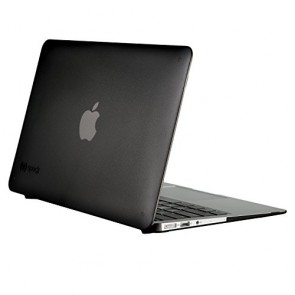 Speck Products See Thru Onyx Case for Macbook Air 11 Inch, Black Matte, SPK-A4156
