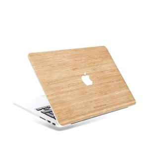 Woodcessories EcoSkin - Macbook Echtholz Cover bamboo for Macbook 13 Air & Pro