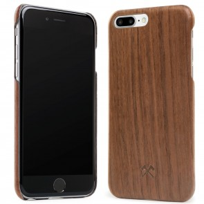 Woodcessories EcoCase - Cevlar Case Walnut/Kevlar for iPhone 7/8 Plus