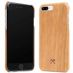 Woodcessories EcoCase - Cevlar Case Cherry/Kevlar for iPhone 7/8 Plus