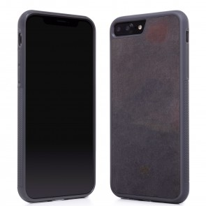 Woodcessories EcoCase - Stone Edition - Airshock Case for iPhone 7/8 Plus - Volcano Black