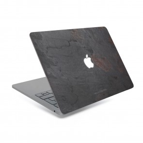 Woodcessories EcoSkin - Stone Edition - Macbook Cover for Macbook 13 Air & Pro - Volcano Black