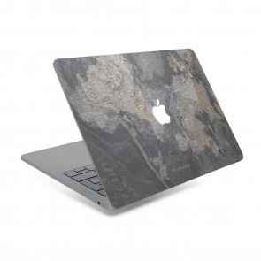 Woodcessories EcoSkin - Stone Edition - Macbook Cover for Macbook 13 Air & Pro - Camo Gray