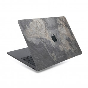 Woodcessories EcoSkin - Stone Edition - Macbook Cover for Macbook 15 Pro Touchbar (2017) - Camo Gray