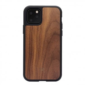 Woodcessories Bumper Case Walnut/Black TPU Softcase iPhone 11 Pro Max