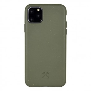 Woodcessories Bio Case Khaki Green/Biomaterial + Recycled Plastic iPhone 11 Pro Max