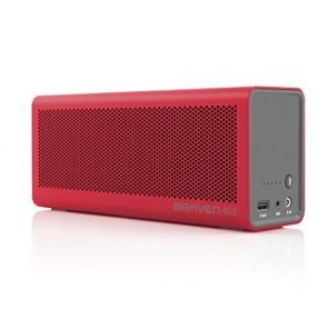 Braven 805 Wireless HD Bluetooth Speaker - Retail Packaging - Red/Gray