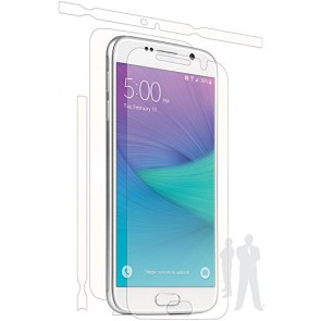 Bodyguardz UltraTough Clear Skins Full Body for Samsung Galaxy S6 Edge