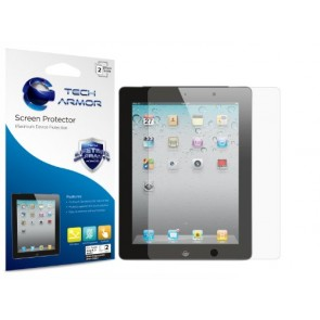 Tech Armor Anti-Glare/Anti-Fingerprint Combo Screen Protector for Apple iPad 4TH Gen/iPad 3,iPad 2 - 2 pack (SP-AGF-APL-ID-2)