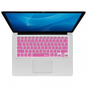 KB Covers Checkerboard Keyboard Cover for MacBook, MacBook Air 13 Inch, and MacBook Pro (Unibody) (CB-M-Pink)