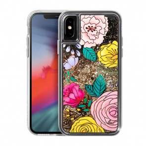 Laut LIQUID GLITTER iPhone X/Xs GLITTER FLORAL