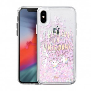 Laut LIQUID GLITTER iPhone X/Xs UNICORN