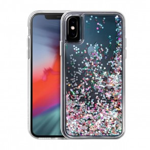 Laut LIQUID GLITTER iPhone X/Xs CONFETTI PARTY