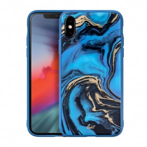 Laut MINERAL GLASS iPhone Xs Max MINERAL BLUE