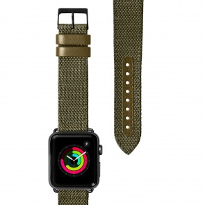 Laut Technical 2.0 Apple Watch 1/2/3/4/5 Strap OLIVE GREEN (38/40mm)