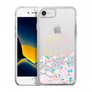 Laut iPhone SE (2020)/iPhone 8 LIQUID GLITTER UNICORN