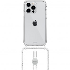 Laut iPhone 13 Pro CRYSTAL-X(NECKLACE) MARBLE WHITE