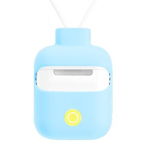 SwitchEasy ColorBuddy for AirPods 1&2 generation charging case,Baby Blue